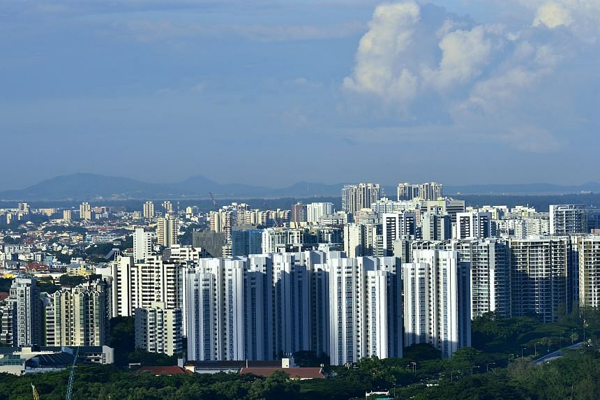 Prices of completed private apartments and condominiums dipped 0.8 per cent in May over the previous month.
