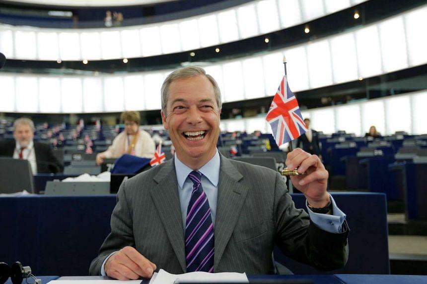 Nigel Farage, leader of the United Kingdom Independence Party (UKIP).