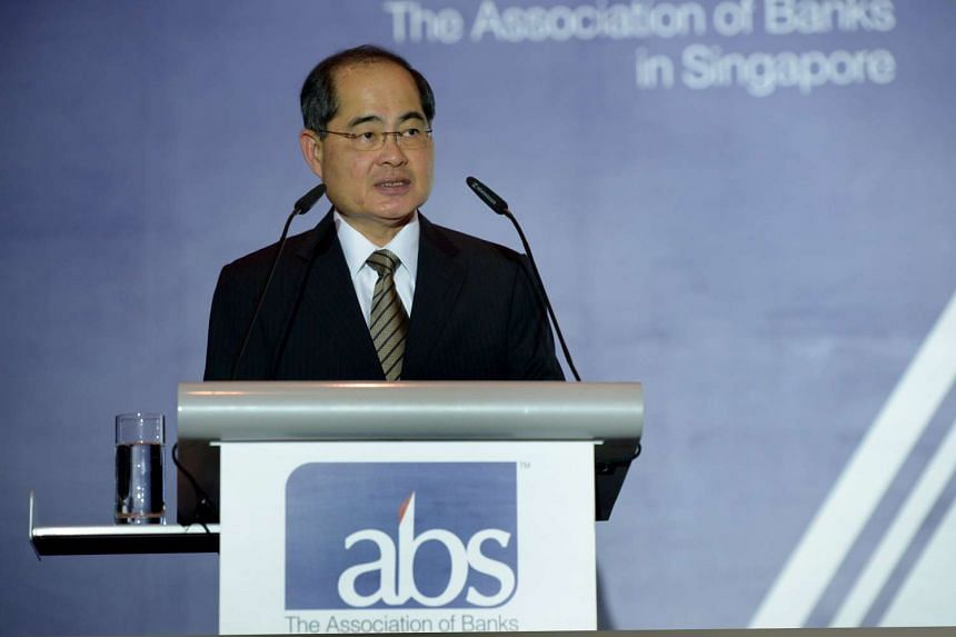 Minister for Trade and Industry Lim Hng Kiang speaks at the ABS 43rd Annual General Meeting and Annual Dinner, on June 28, 2016.