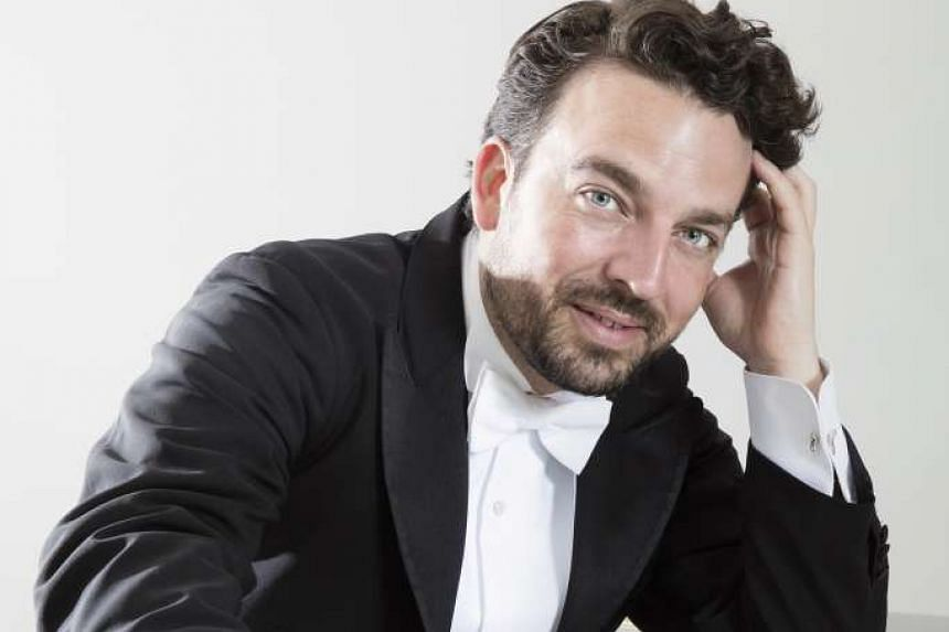 Pianist Khatia Buniatishvili and conductor James Gaffigan (above) will be here for a one-night-only concert.