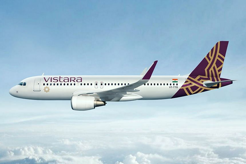 Vistara, which has 11 planes in its fleet and is co-owned by India's Tata Sons Ltd.