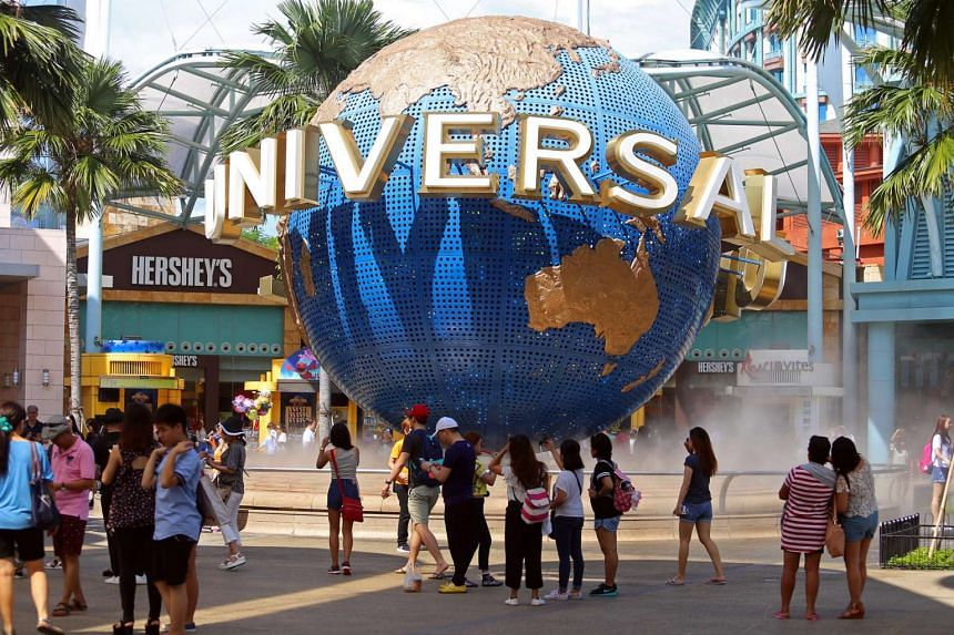 Universal Studios Singapore was voted the top amusement park in Asia for the third year in a ranking by travel site Tripadvisor.