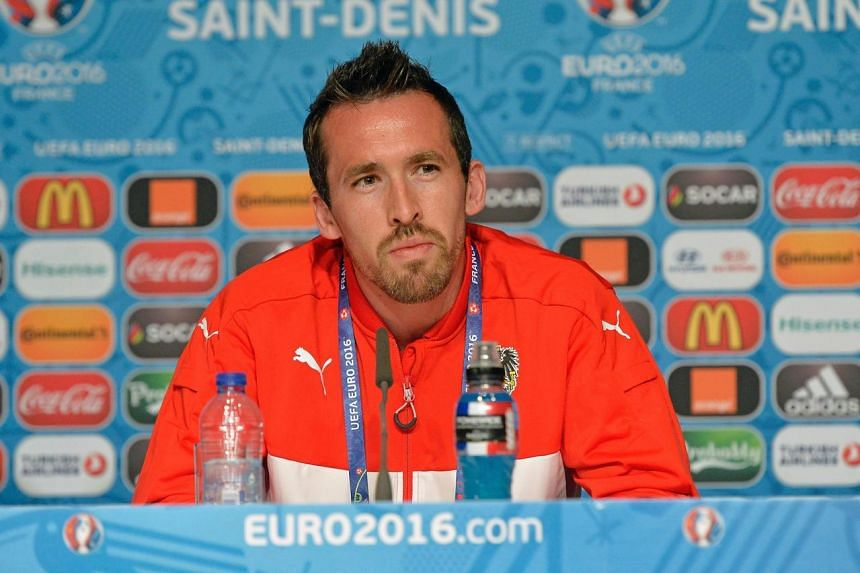 Austria captain Christian Fuchs announced his retirement from international football on Wednesday (June 29).
