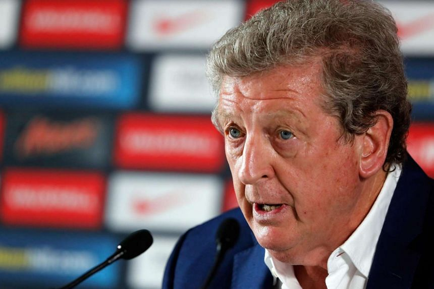England manager Roy Hodgson holds a press conference at the England team hotel in Chantilly, France on June 28, 2016.