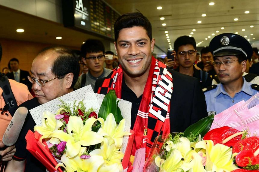 Zenit St Petersburg's Brazilian international Hulk arrived in Shanghai Wednesday to sign for Sven-Goran Eriksson's Shanghai SIPG team, as the cash-flush Chinese Super League embarks on a new round of transfer spending.