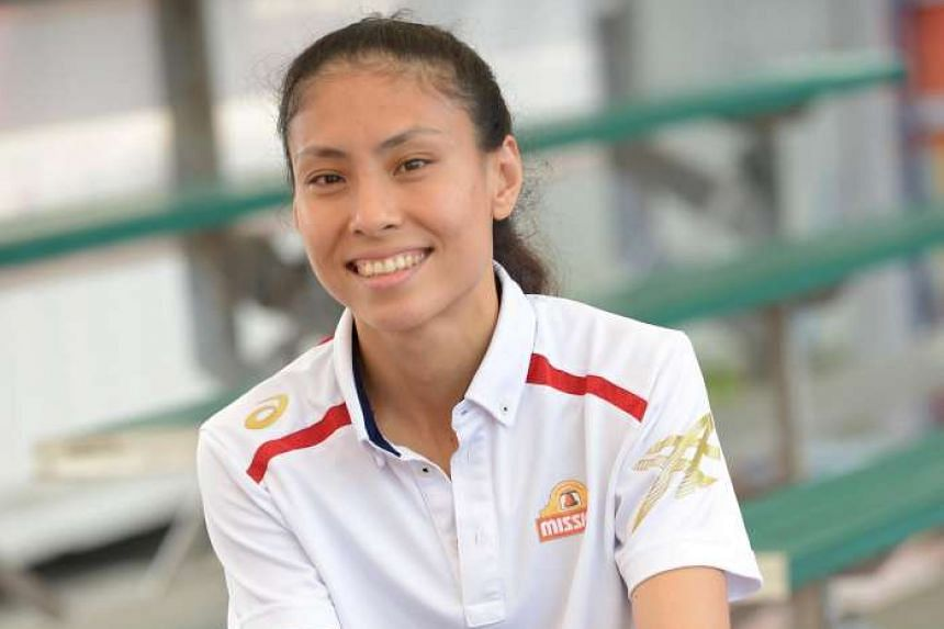 Vanessa Lee, the new captain of Singapore netball team.