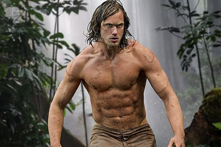 Alexander Skarsgard in The Legend Of Tarzan.