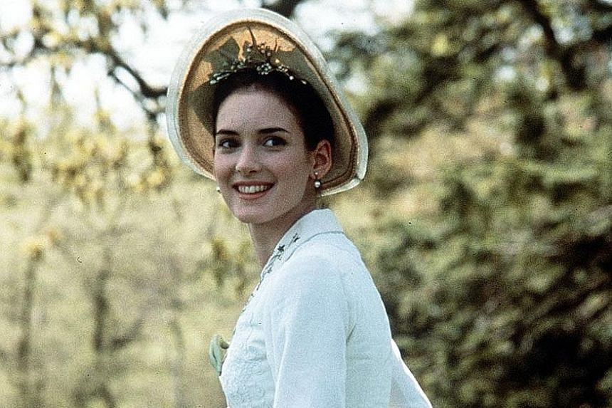 Ryder won a Best Supporting Actress Golden Globe for her role in the 1993 film, The Age Of Innocence (above).