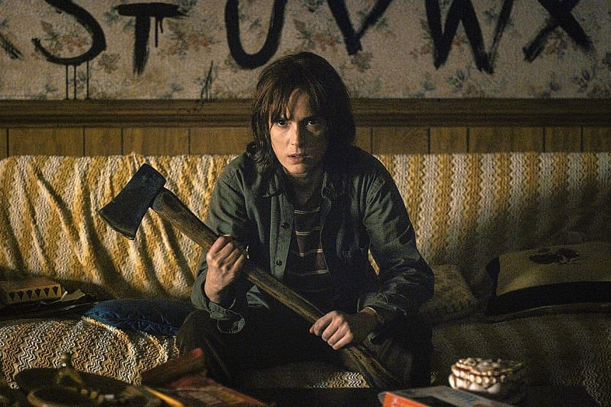 In Stranger Things, actress Winona Ryder (above) plays a mother of a boy who mysteriously vanishes.