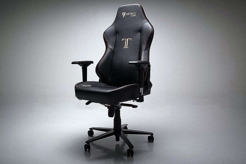 Secretlab's Titan chair looks impressively solid without being cumbersome.