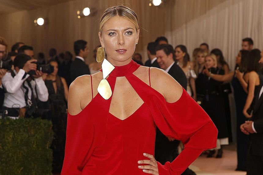 Maria Sharapova, who is serving a two-year doping ban from tennis, has announced that she will be attending a course run by the Harvard Business School.