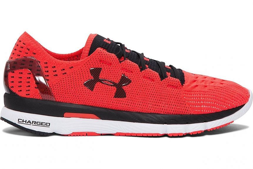 The Under Armour SpeedForm Slingshot uses material created by Nasa.