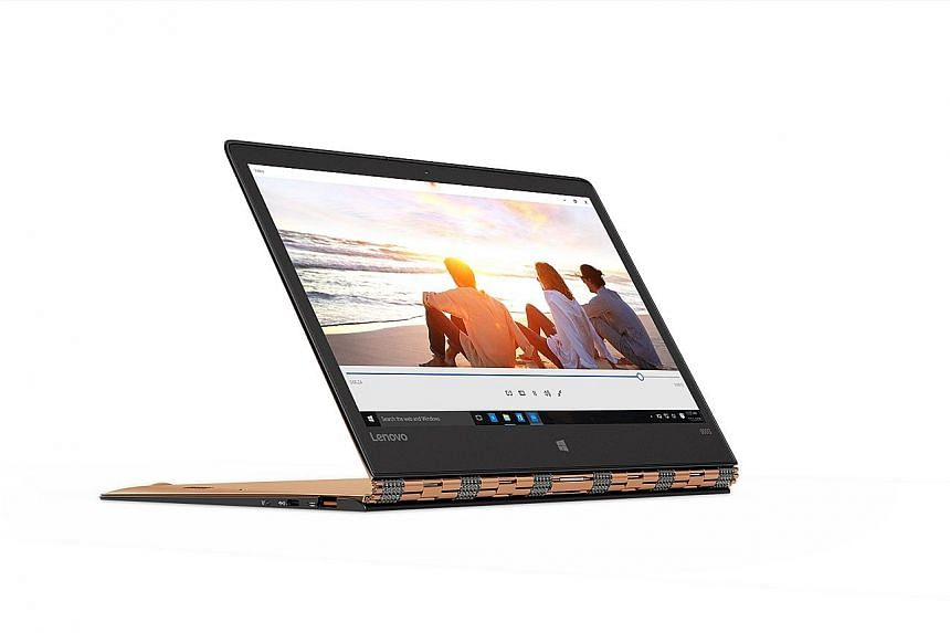 The Yoga 900S is smaller and lighter but feels awkward to use as a tablet.