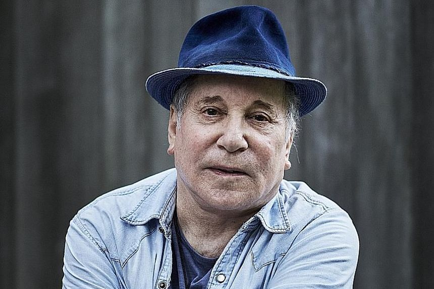 After finishing his concerts, musician Paul Simon plans to travel for a year.