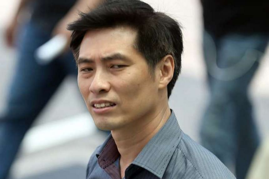 Daniel Cheo Guan Beng was sentenced to two weeks' jail after being found guilty of causing hurt to Mr Tay Kim Beng on the PIE on Jan 13 last year.