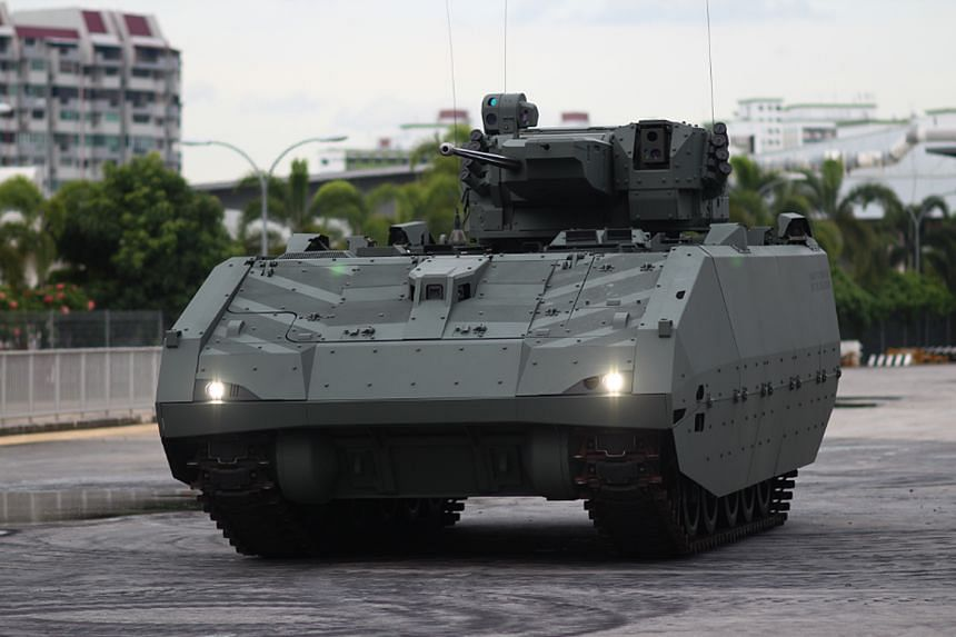 The Singapore Armed Forces (SAF) will commission the next generation Armoured Fighting Vehicle (AFV) by 2019.