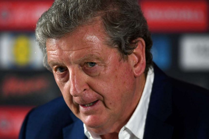 England manager Roy Hodgson addresses a press conference in Chantilly, on June 28, 2016, after his resignation.