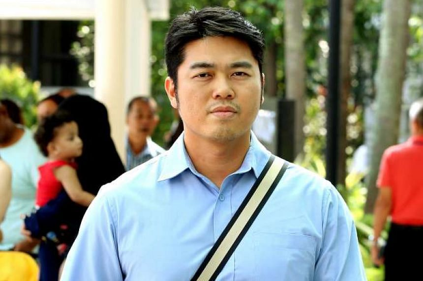 Bryan Lim leaving the State Courts on June 30, 2016.