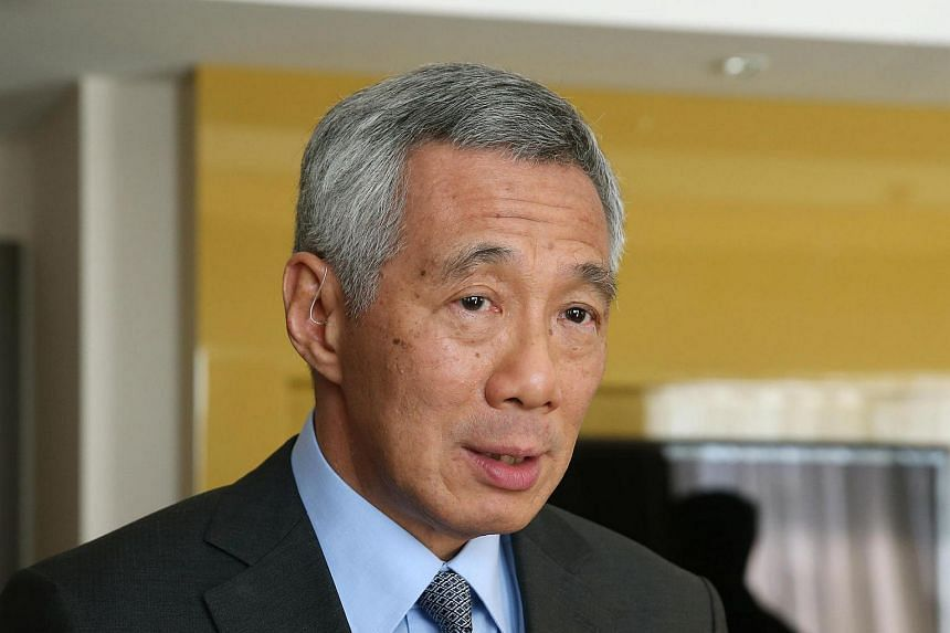 Prime Minister Lee Hsien Loong at the end of the Asean-Russia Commemorative Summit in Sochi on May 20.