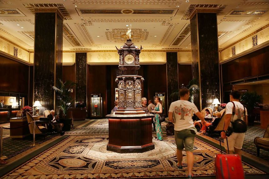 China's Anbang Insurance Group, which recently bought the Waldorf Astoria (above), has announced plans to convert as much as three-quarters of the hotel rooms into apartments. When the New York landmark reopens in two years, it will have about 500
