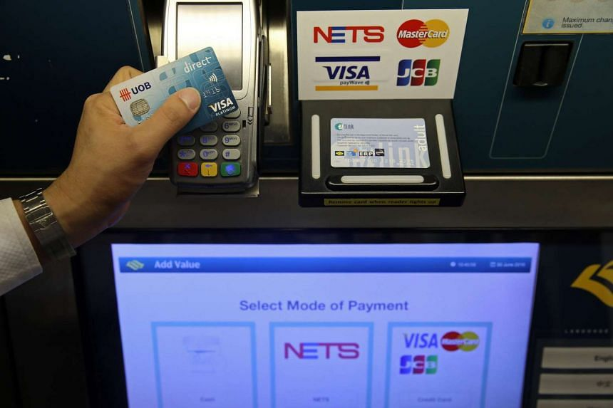 The new cashless top-up option for Cepas cards at General Ticketing Machines (GTMs) across MRT stations islandwide.