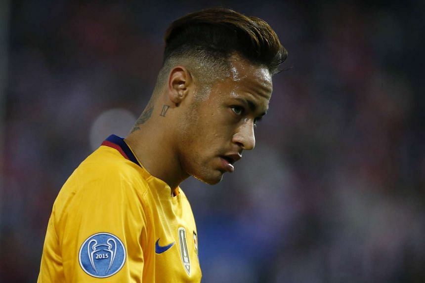 Neymar (above) was already under contract until 2018 with Barcelona, having transferred in 2013 from Brazil's Santos.