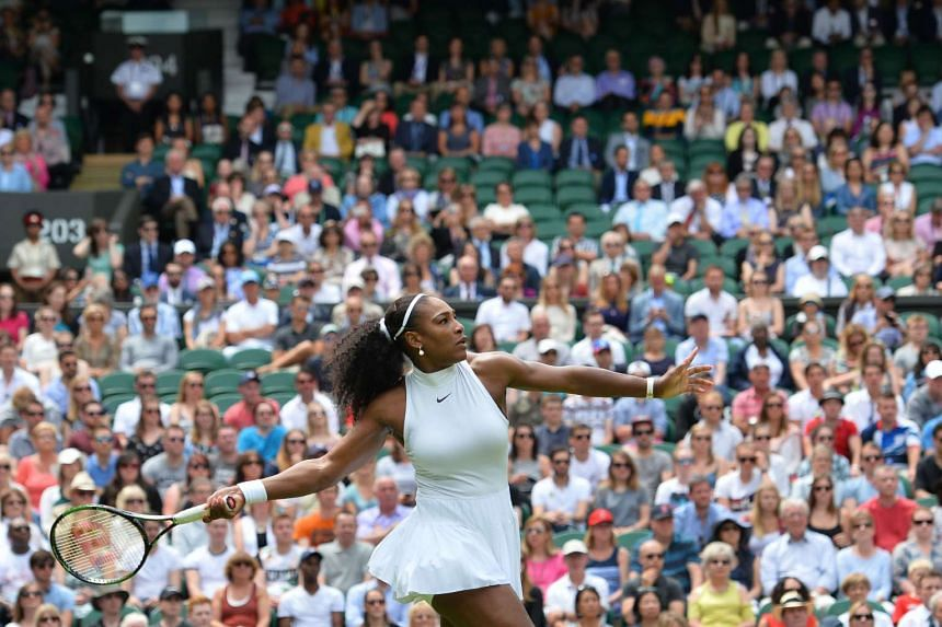 """Serena Williams opted to have her dress custom-made by Nike, which is more structured than the """"babydoll"""" dress and comes with a higher neckline and a tighter waist."""