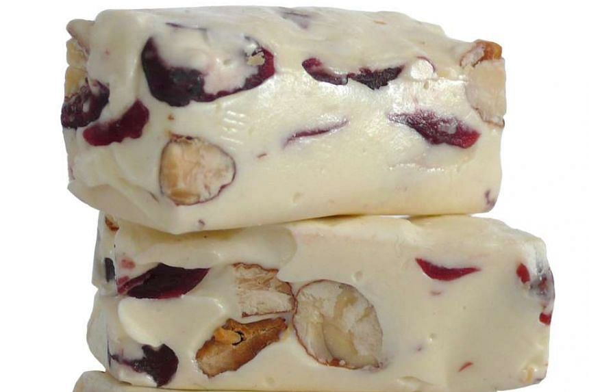 Nutella was thought to be a favourite, but sweet treat Nougat (above) won the day.