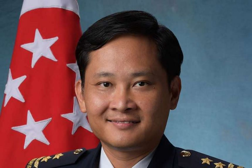 Chief of Air Force Mervyn Tan, now a Major-General as well, joined the SAF in 1990.