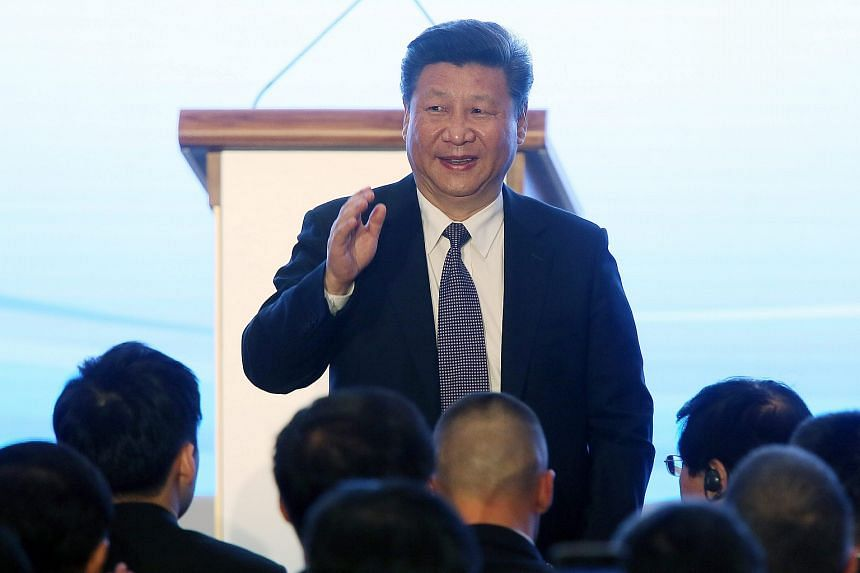 Chinese President Xi Jinping at the International Forum on the New Silk Road in Warsaw, Poland, on June 20.