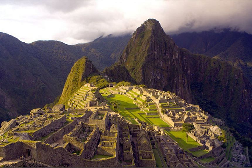 The Incas built the famous sacred site Machu Picchu (above) in the 15th century to worship the sun.