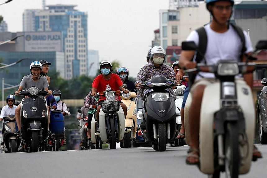 One in every two of Vietnam's 90 million people owns a motorcycle, and Hanoi is forecast to have seven million motorcycles on its roads in the next two years.