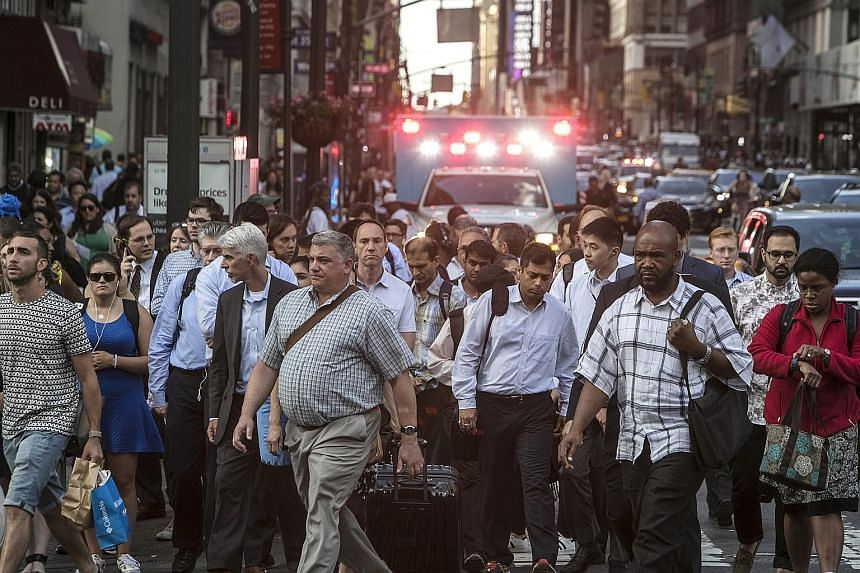 With 8.5 million residents and almost 60 million visitors expected this year, the situation is made worse by those who text or read newspapers while walking, as well as clueless tourists who stop mid-stride.
