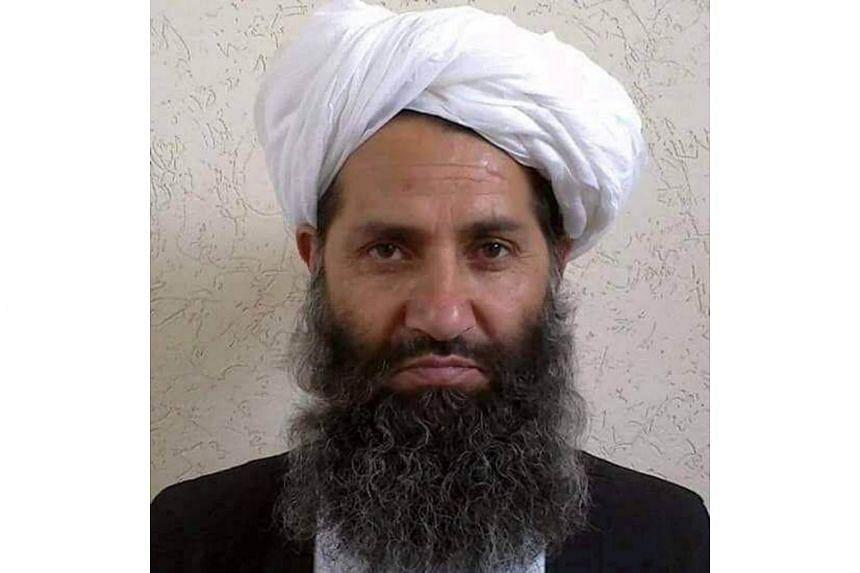 New Taleban leader Maulawi Haibatullah Akhundzada on May 25, 2016.