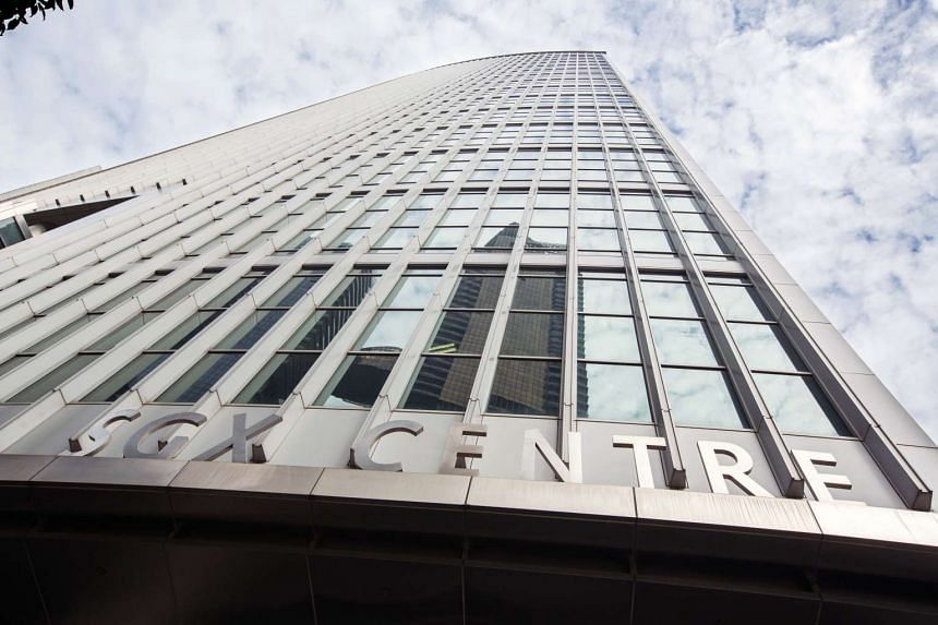 The SGX Centre in Singapore on June 28, 2016.