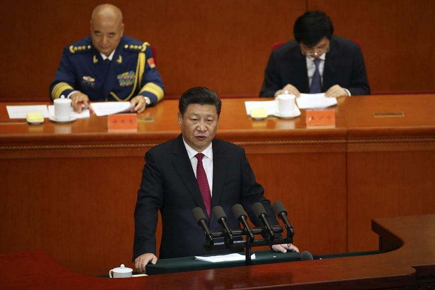 Chinese President Xi Jinping delivers his speech during a celebration ceremony of the 95th anniversary of the founding the Communist Party of China in Beijing, China, on July 1.