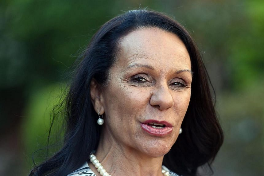 Former teacher Linda Burney, 59, answering a question during a press conference in Sydney on July 3, 2016.