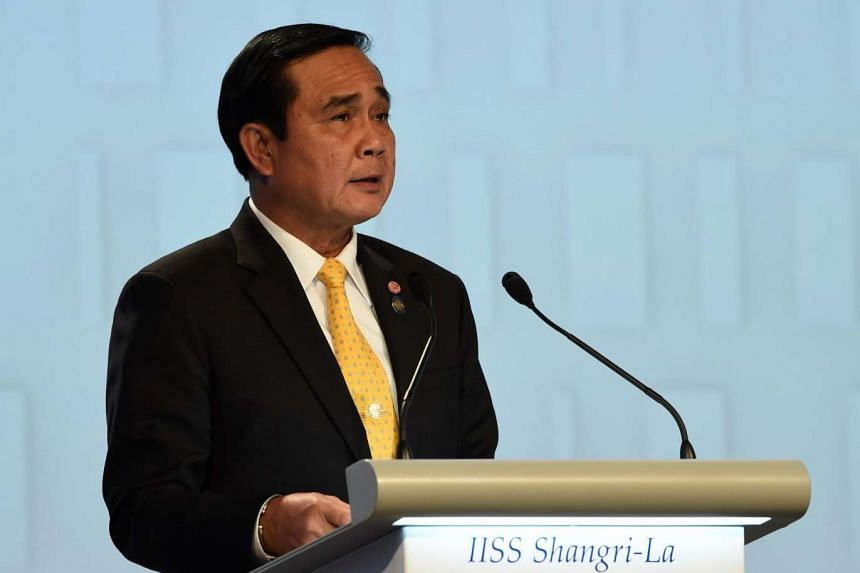 """Thai Prime Minister Prayut Chan-o-cha has said that centres had been established to allow the junta to """"monitor the situation"""" as the referendum looms."""