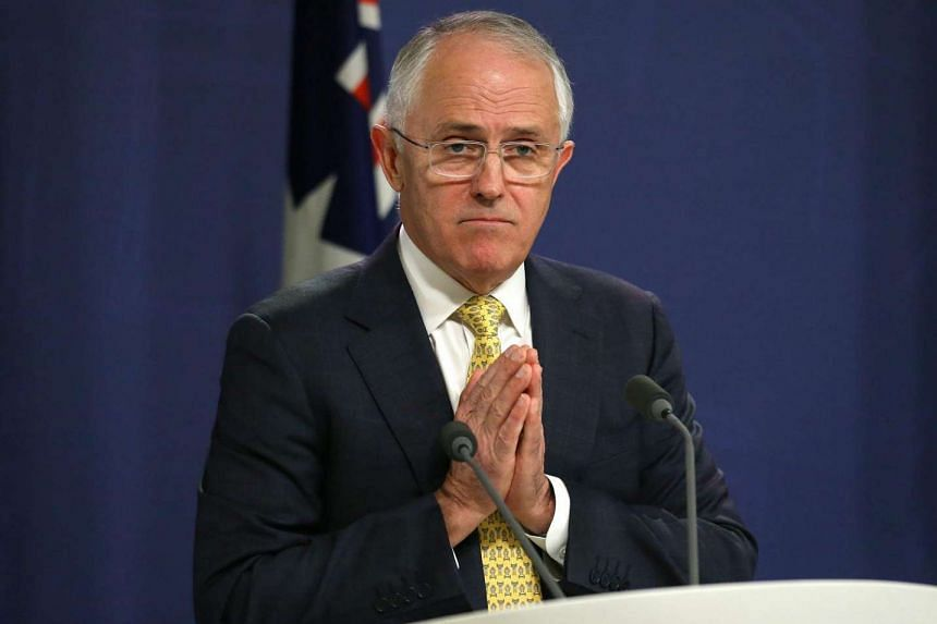 Australian Prime Minister Malcolm Turnbull at a press conference in Sydney, on July 3, 2016.