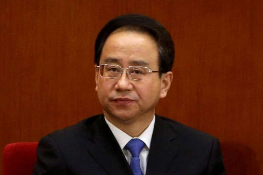 Ling Jihua, then vice-chairman of the Chinese People's Political Consultative Conference (CPPCC), at a meeting in Beijing, on March 11, 2013.