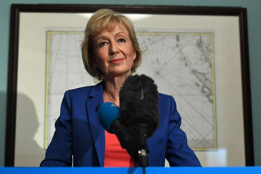 British Conservative Party leadership candidate Andrea Leadsom delivers a speech to launch her bid to become the Conservative party leader in London on July 4, 2016.