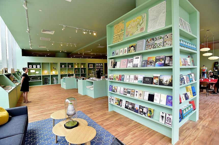 Located at Scotts Square, K+ (above) carries books, lifestyle items and furniture, among other things.