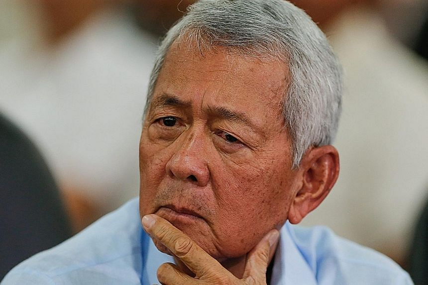 Mr Yasay does not believe in yelling.
