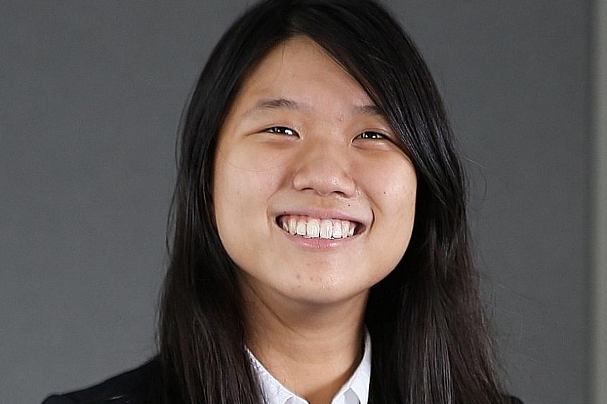 NUS student Chng Hui Yee will be among the first to go to TUM this year.