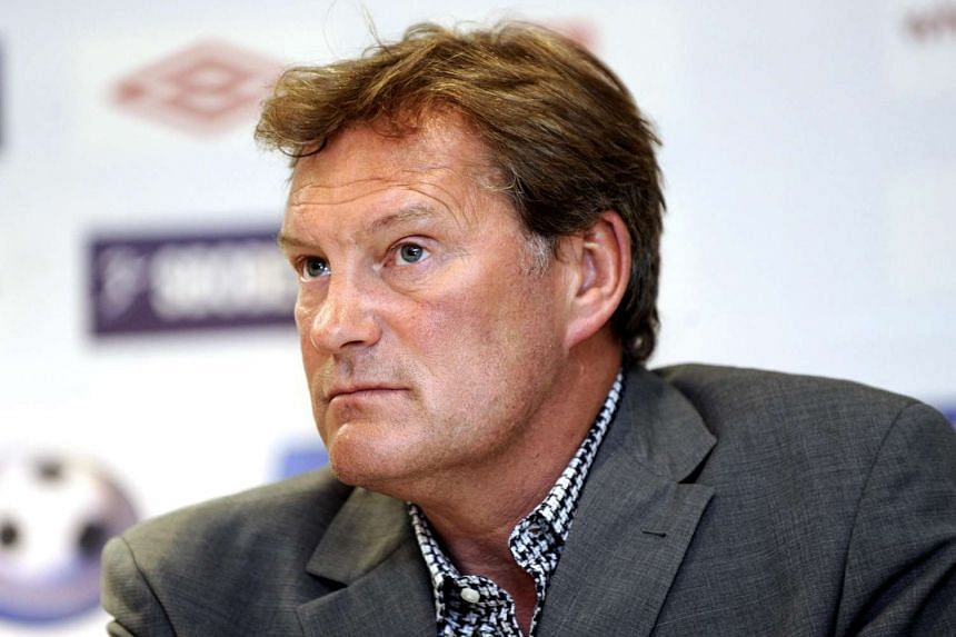 Former Footballer and England Manager Glenn Hoddle during the launch.