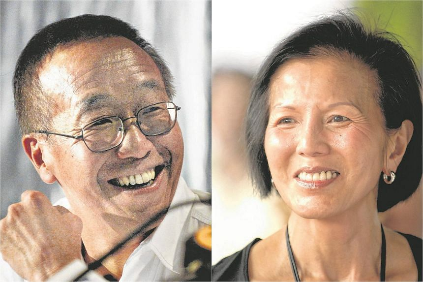 Tycoon Ong Beng Seng (left) and his wife Christina are embroiled in a high-stakes legal battle with the latter's brother Peter Fu Chong Cheng and sister Juanita over hundreds of millions of dollars of assets.