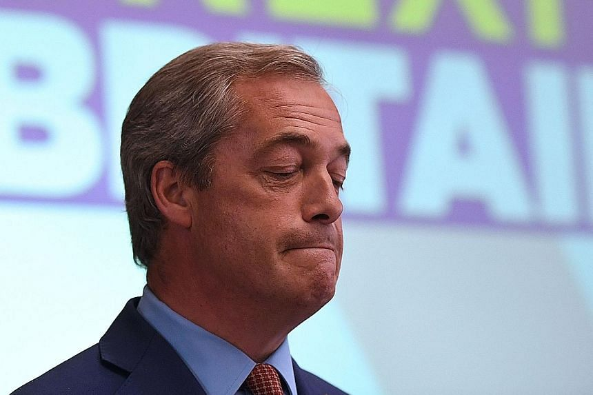 Mr Farage, one of the most outspoken and effective anti-EU campaigners, will remain a lawmaker in the EU Parliament, saying he wanted to keep pressure on the next prime minister over Brexit.