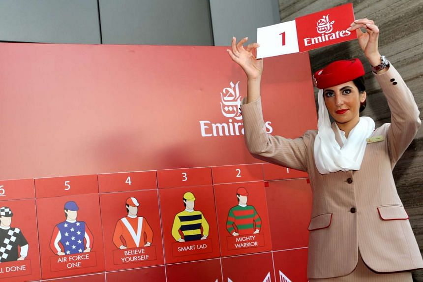 The Emirates Singapore Derby Post Position-Draw on July 5, 2016, at Chevron House at Raffles Place.