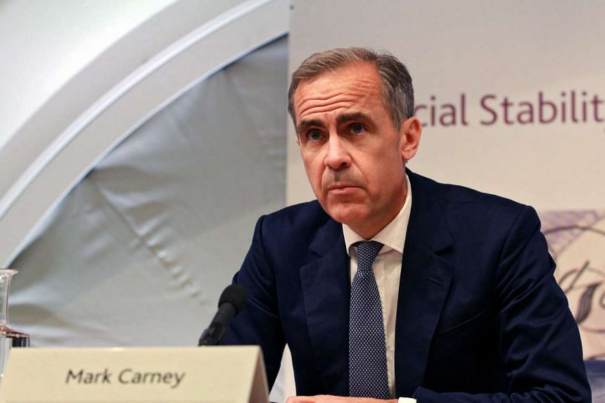 Mark Carney, governor of the Bank of England, speaks at a press conference on the BOE's Financial Stability Report in London, on July 5, 2016.