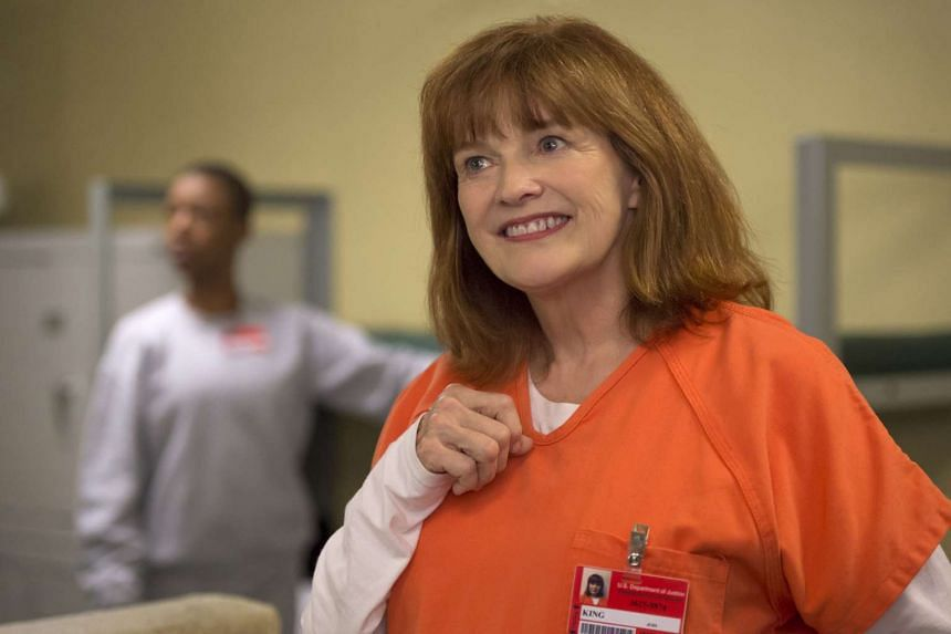 Blair Brown (above) joins the cast, which includes Laverne Cox, in the fourth season.